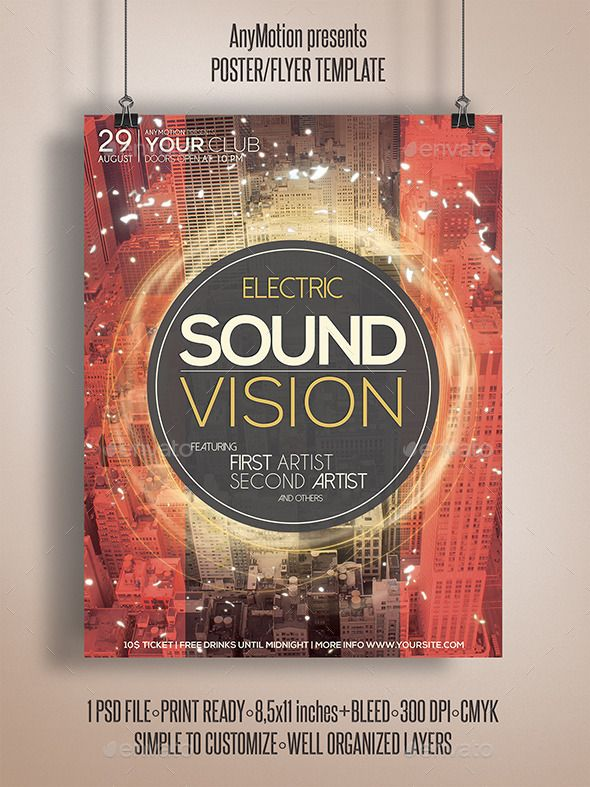 14 Best Flyer Design Images On Pinterest Flyer Design Club Parties And Flyer Template