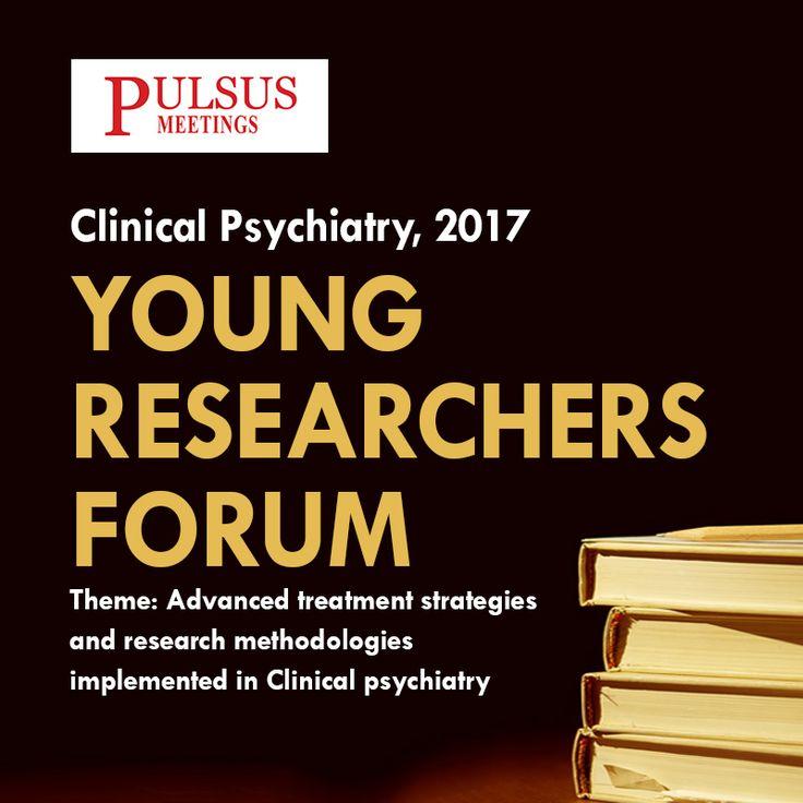 27th World Congress on Clinical Psychiatry November 02-03, 2017  Atlanta, USA Url: http://clinicalpsychiatry.cmesociety.com/ Registration: http://clinicalpsychiatry.cmesociety.com/registration