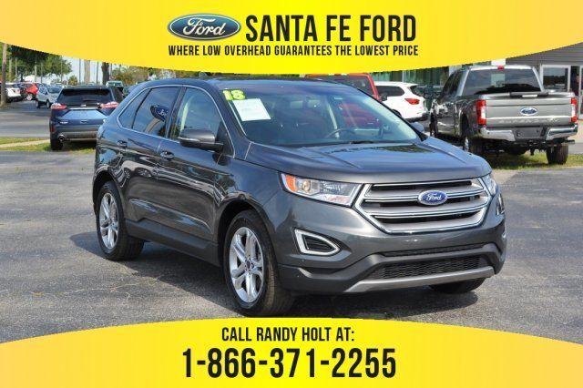 Used 2018 Ford Edge Titanium Fwd Suv For Sale Gainesville Fl