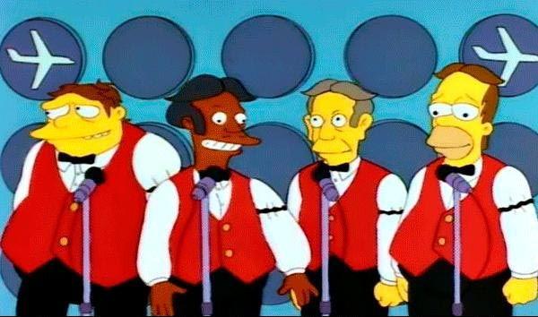 Cantante de los Sol-Fa-Mi-Das (capítulo 'El cuarteto vocal de Homer') y Dolorgasmo (capítulo 'El show de los 90')