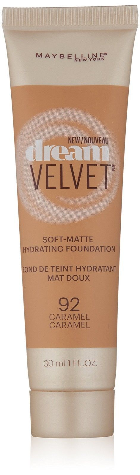 Maybelline New York Dream Velvet Foundation Caramel 1 Fluid Ounce