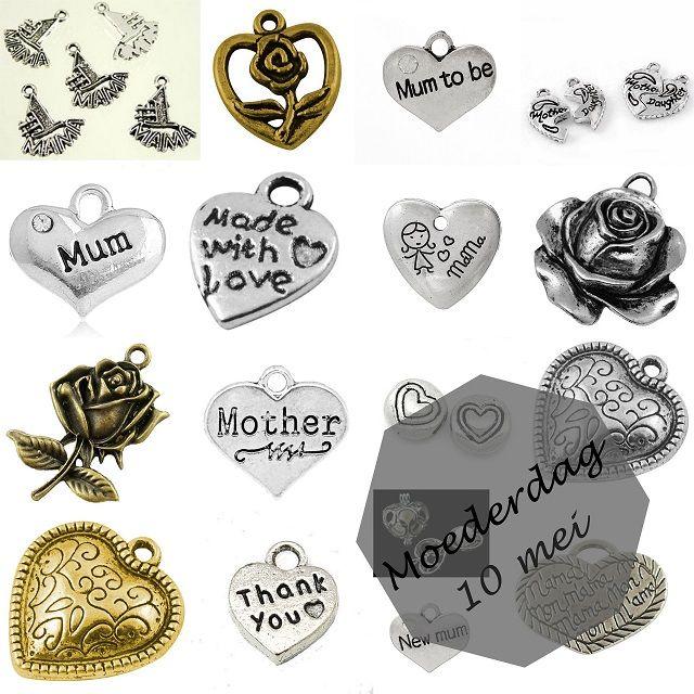 Het is bijna Moederdag... Verras je moeder met een uniek en handgemaakt cadeau!   www.bykaro.nl voor kralen, bedels en meer...