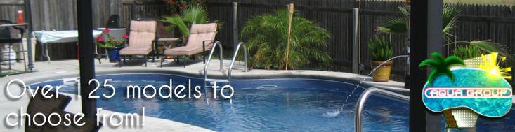 The Aqua Group Fiberglass Pools & Spas