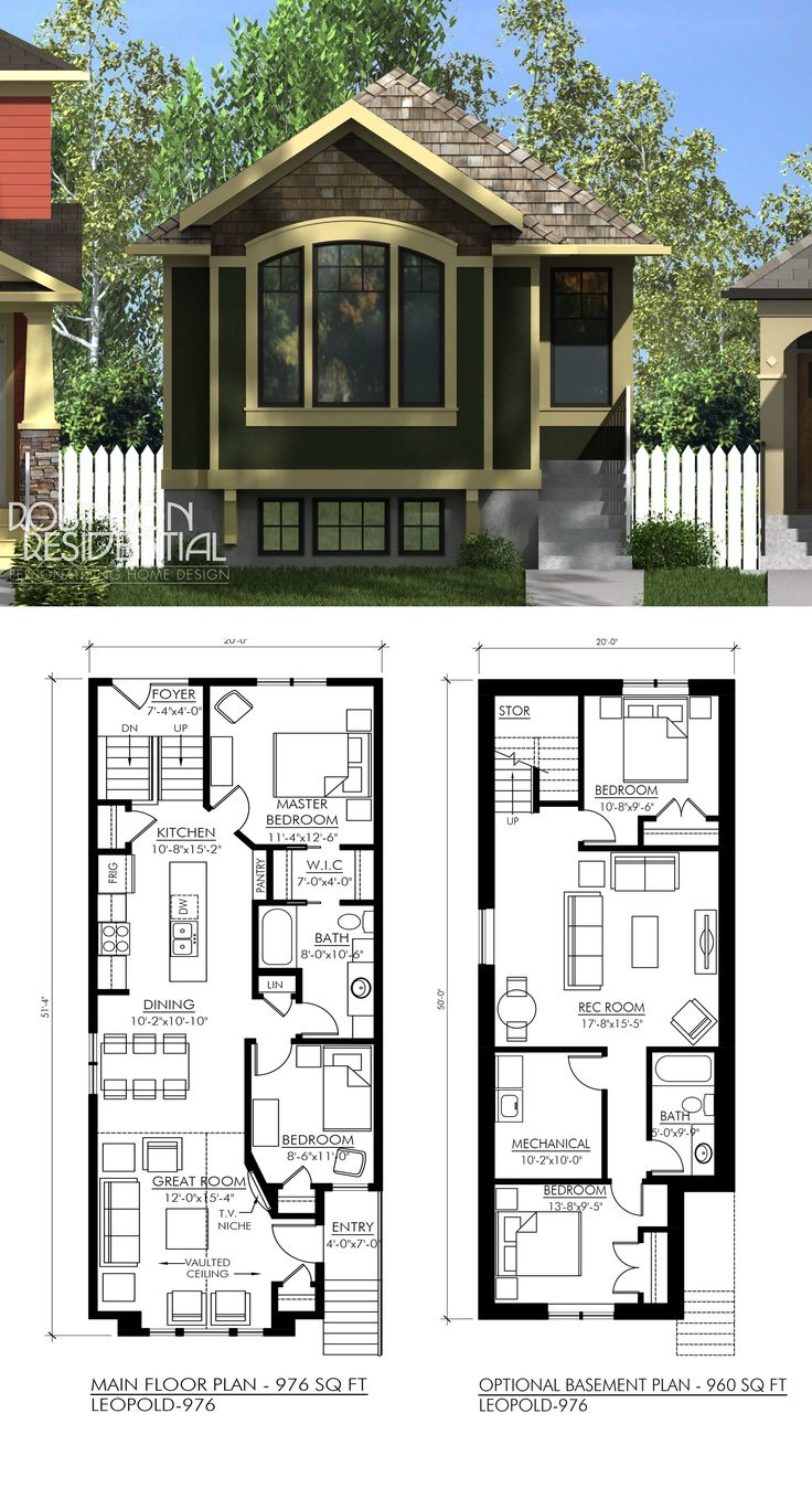Small House 2 Bedroom 17 Best Ideas About Basement House Plans On Pinterest House