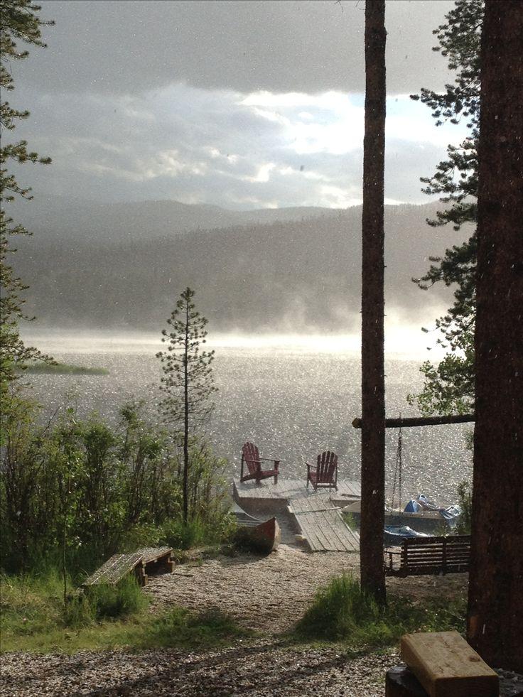 Best 25 cabin decks ideas on pinterest for Mountain cabin homes