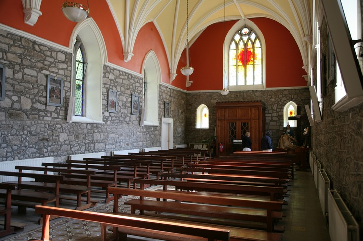 St. Kevin's Church in Glencree Village  was built in 1849