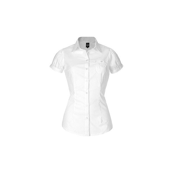 La blouse petit col Claudine ($12) ❤ liked on Polyvore featuring tops, blouses, petite blouses, peter pan collar blouse, chemise top, peter pan blouse and peter pan collar top
