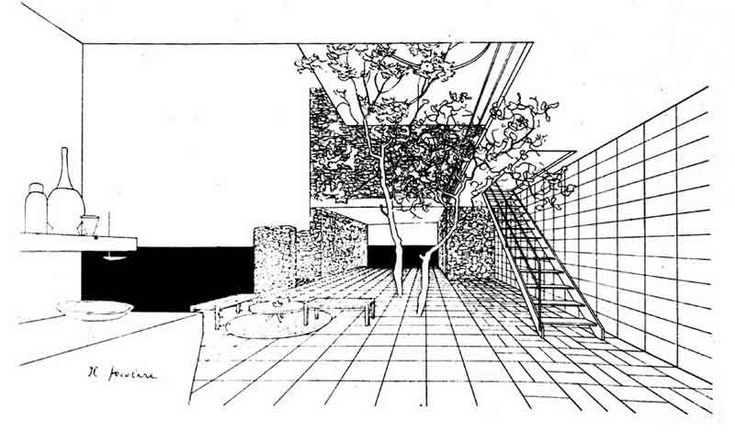 Progetto per una villa a Positano