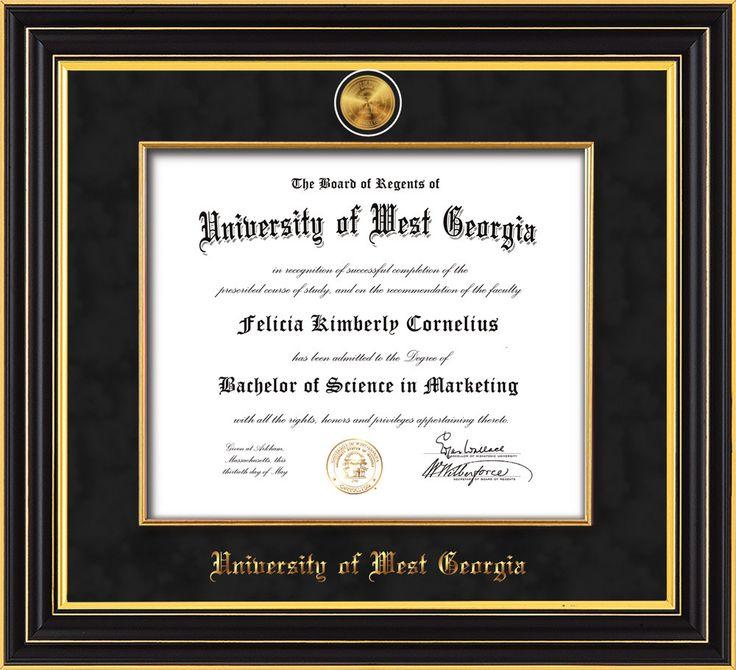 63 best University of West Georgia - UWG - Diploma Frames and ...