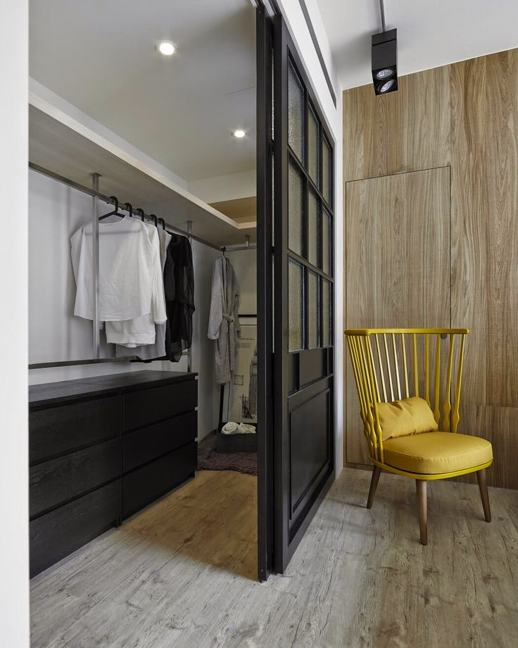 Create a dressing room space