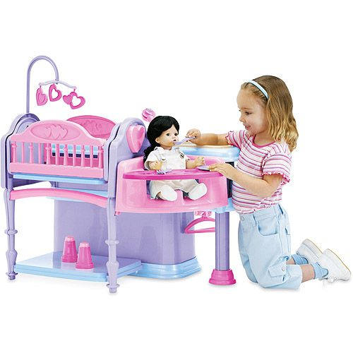 Deluxe Doll Nursery 10 Piece Play Set Play Sets