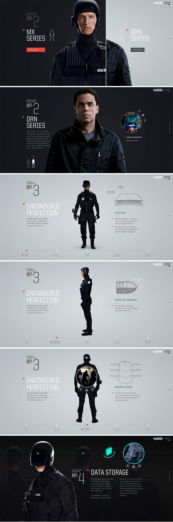Almost Human by Brijan #ui #mobile #design #ResponsiveDesign #Web #UI #UX #WordPress #Resposive Design #Website #Graphics