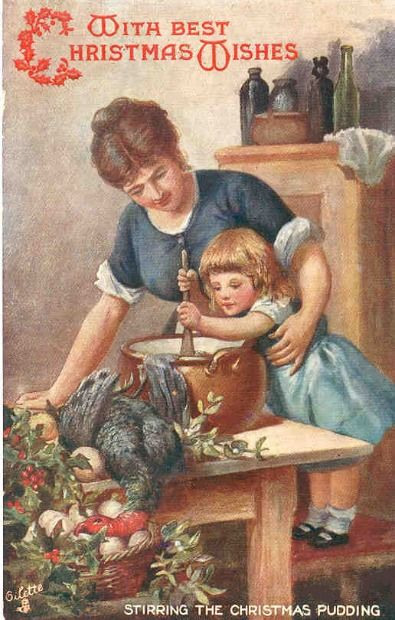 Stir Up Sunday, Traditions and my Traditional Victorian Christmas Pudding
