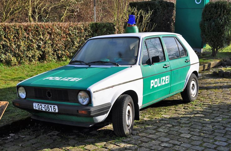 OG | Volkswagen / VW Golf Mk1 | #Polizei