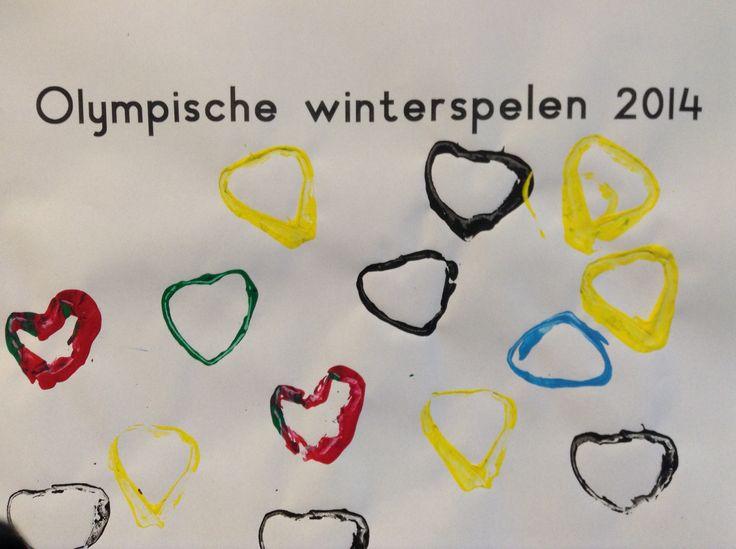 Stempelen op Valentijnsdag, tijdens de Olympische spelen.