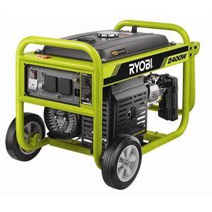 Ryobi 2400W Portable 4 Stroke Petrol Generator