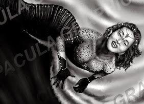 black queen - my digital painting