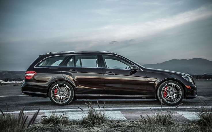 If you're going to get a wagon, 2012 Mercedes-Benz E63 AMG Wagon. (motortrend.com)