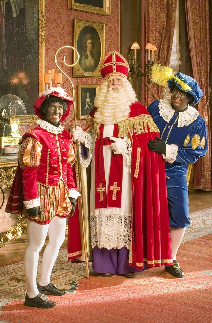 Sinterklaas en zijn Pieterbazen