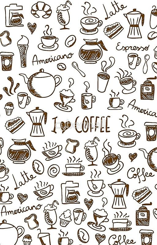 Coffee Doodles 25% offiPhone Cases,Samsung Cases&iPhone Wallets. UseONTHECASE25at checkout.