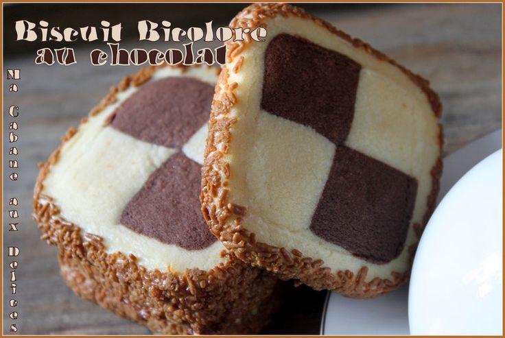 İki tonlu dama çikolata bisküvi | Cezayir Mutfağı Yemek Tarifleri, Doğu ve Fransız