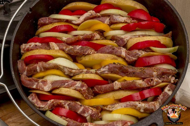 Schichtfleisch ist ein simples, unglaublich leckeres Gericht. Durch langes Schmo…
