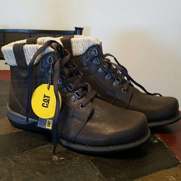 Technology cat shoes for women's Short boot comfy caterpillar wide width,  leader upper balance caterpillar  Shoes