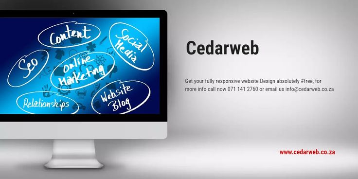 Get your fully responsive website Design absolutely #free, for more info call now 071 141 2760