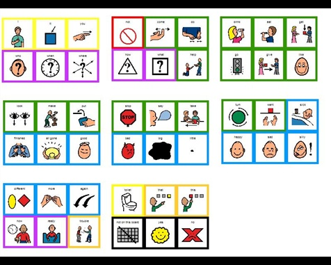 Core Vocabulary Visuals (must have Boardmaker Share account)