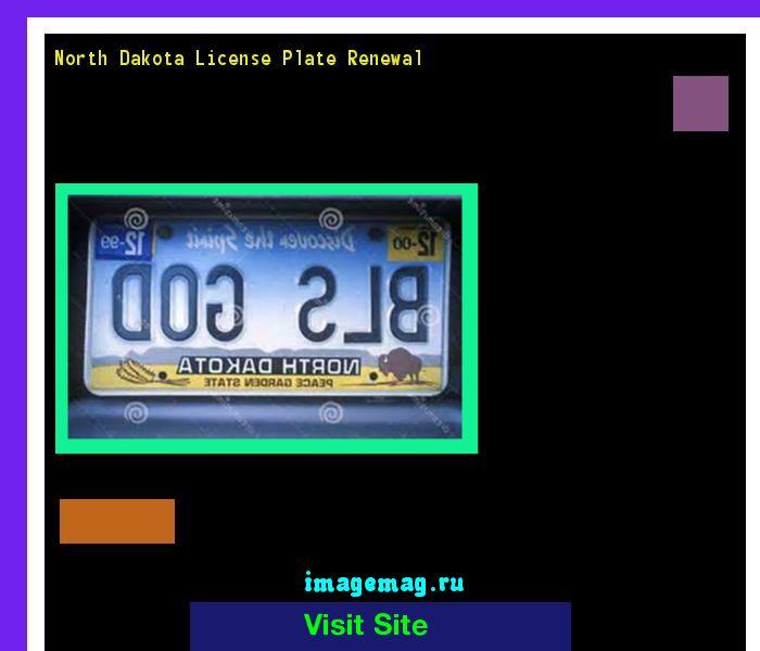 North dakota license plate renewal 145141 - The Best Image Search