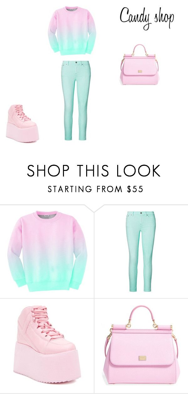 Candy shop by zuzia-apanasewicz on Polyvore featuring uroda, Dolce&Gabbana, Aloha From Deer, Ralph Lauren and Y.R.U.
