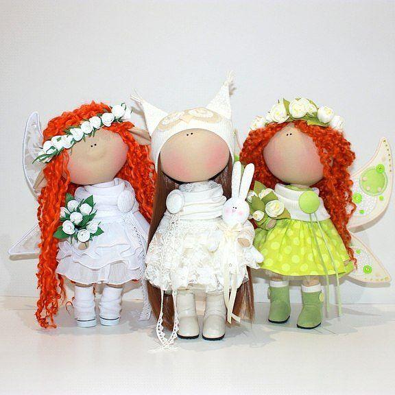 "157 Me gusta, 7 comentarios - Куклы ручной работы (@_little_dolls_) en Instagram: ""Так они мне нравятся!!!"""
