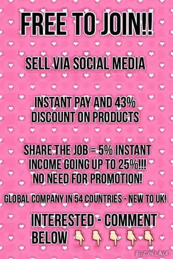 Are you on Social Media already? Wanting to earn some extra cash? I am building everything from working around my kids and boy do I know how to juggle lol Im sure all us Mummies can relate to that lol  But I am having fun, getting to spend so much time with them - theres never a bigger thing that regretting taking a chance to see if you love it as much as I do - Around all evening to have a chat    📩📩📩 xxxx