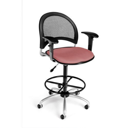 OFM Moon Swivel Chair with Arms and Drafting Kit