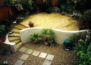 an idea for a shaded area in our garden