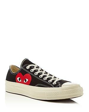 Comme Des Garcons Play x Converse Men's Chuck Taylor Lace Up Sneakers