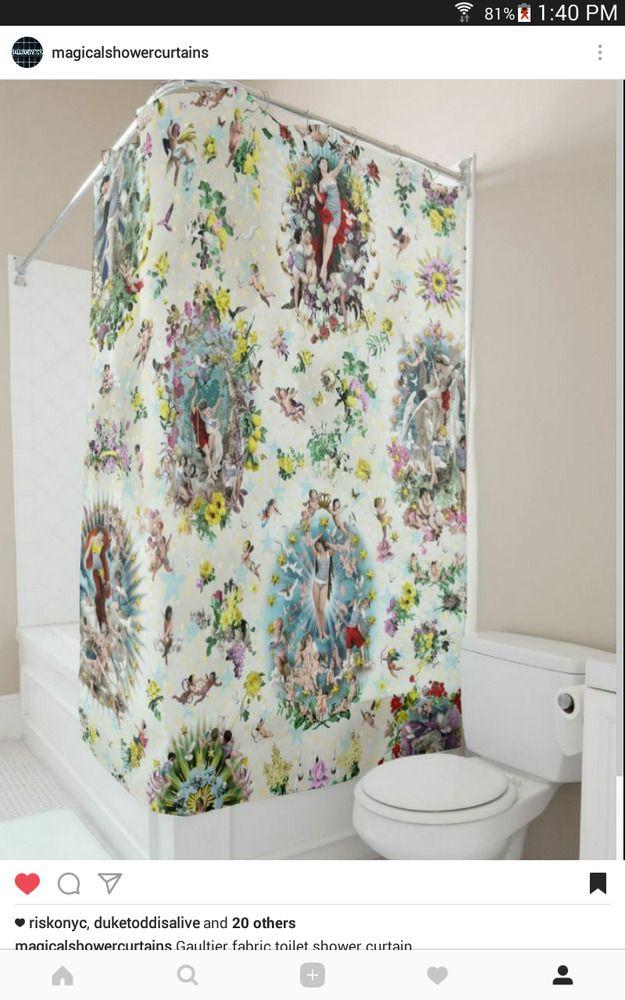 Sample Toile Design Gaultier Shower Curtain June Clayton Uk Sallyandmitch Yourchoice Shower Curtain Interior Design Advice Design