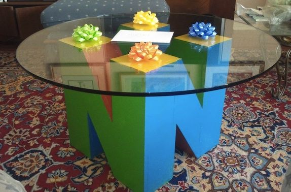 Marvelous Custom Nintendo 64 Coffee Table Diy Today Pin Alphanode Cool Chair Designs And Ideas Alphanodeonline