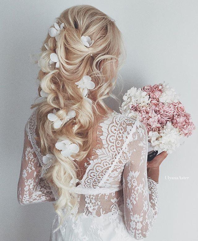 Floral headpiece LAUREL online shop UlyanaAster.com