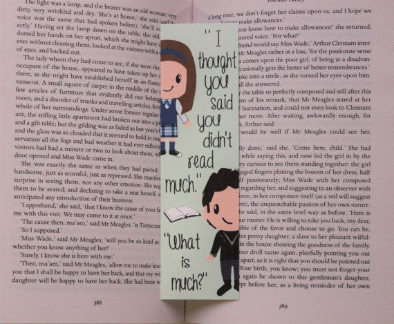 Jess and Rory Quote Bookmark Gilmore Girls by BeyondthePages19