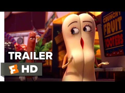 Sausage Party Official Trailer #1 (2016) - Seth Rogen, James Franco Animated Movie HD - YouTube