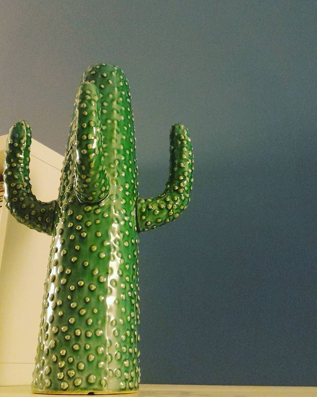 Green style at my home <3 #ilsoledentrome #greenstyle #homecarlá #cactus #casafacile #vasodesign #designinterior #designideas