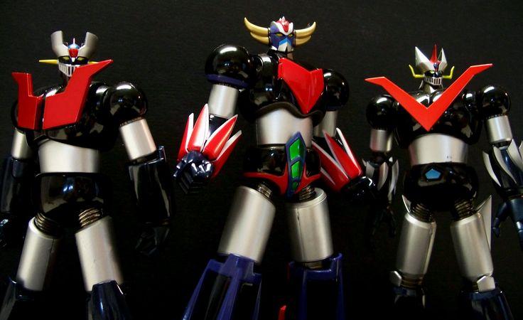 Sigle dei Super Robot anni '80 - Miglior audio possibile [Italian initia...