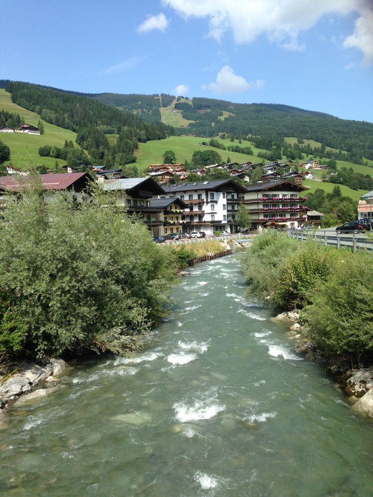 Saalach Saalbach Oostenrijk