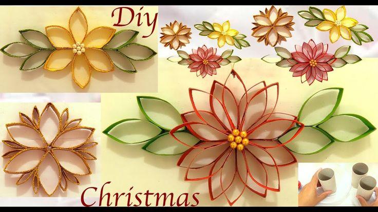 3 Ideas decorando para Navidad reciclaje haz adornos en pocos minutos - YouTube