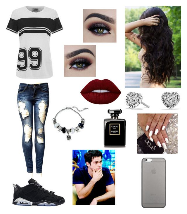"""""""Date night With Dylan o Brien✨"""" by sherly-morban ❤ liked on Polyvore featuring beauty, Retrò, Baum und Pferdgarten, Native Union, David Yurman and Lime Crime"""