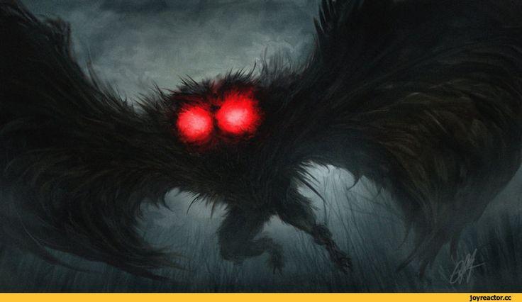 chrisscalf,красивые картинки,Мрачные картинки,человек-мотылёк