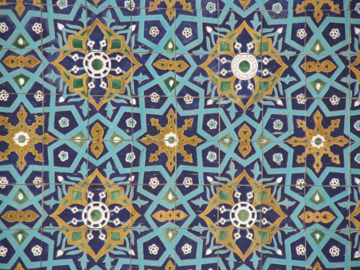 #Oezbekistan mozaïek