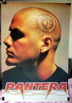 Phil anselmo cfh tattoo head poster pantera phil anselmo for Phil anselmo tattoos