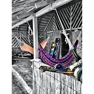 Disfrutando Colombia foto By @aj_lg17 #SomosTurismo Hamacas guajiras#cabodelavela #colombia #altaguajira#paisajescolombianos